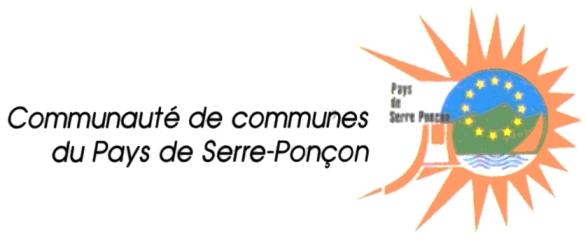 Logo de la communauté de communes du Pays de Serre-Ponçon