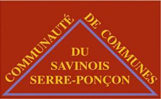 Logo de la communauté de communes du Savinois - Serre-Ponçon
